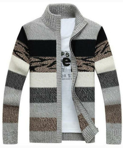 MSA Signature TIMESUNION  Knitted Cardigan  Sweaters With Collar