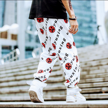MSA Signature Harajuku style letter printing Casual Trousers Loose HipHop Pants Man