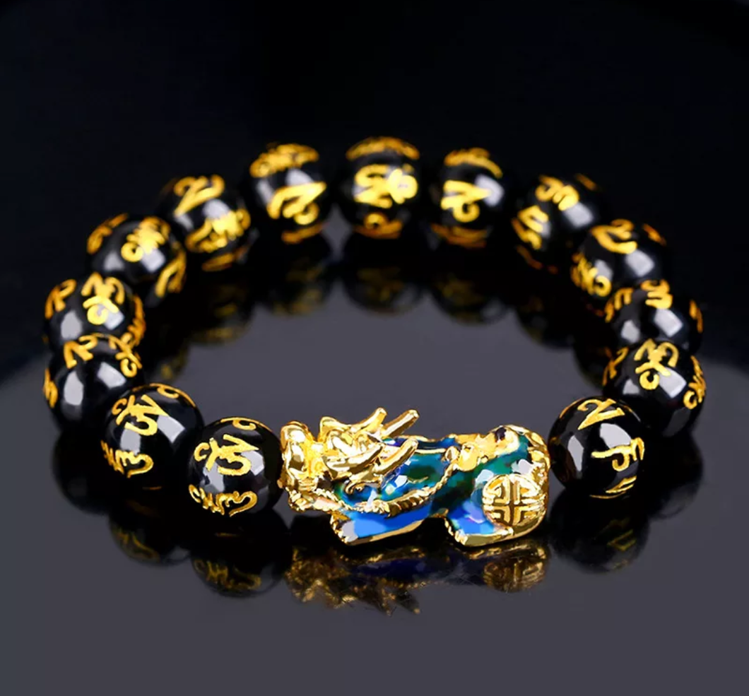www.mensswaggerapparel.com Quick shipping low prices Men's Watches & Accessories Natural Stone Beads Pixiu Lucky Charm Bracelet