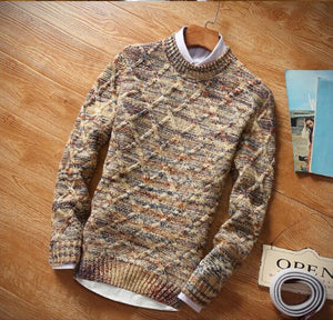 www.mensswaggerapparel.com Quick shipping low prices men's sweaters Winter Sweater Round Neck