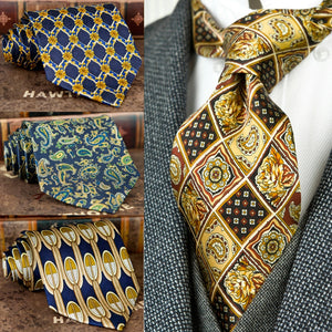 www.mensswaggerapparel.com Quick shipping low prices men's ties & bow tiesHandmade Printing Mens Ties Necktie Pattern Paisley Geometric 100% Silk Printed Classical