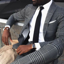www.mensswaggerapparel.com Quick shipping low price men's vest suit & suit jackets. Tweed Men Suit straight wedding suits Slim Fit 2 pics Custom made business clothes Slim Fit