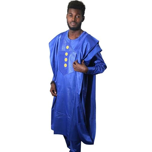 www.mensswaggerapparel.com Quick shipping low prices Traditional Attire dashiki bazin riche suits tops shirt pant 3 pieces set african clothes for men traditional african mens outfits