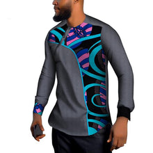 www.mensswaggerapparel.com Quick shipping low prices Traditional Attire African Men Cotton Dashiki Men Long Sleeve Shirt Top Shirts Bazin Riche Men Shirt Traditional African Men Shirt  www.mensswaggerapparel.com Livraison rapide prix bas Tenue traditionnelle Hommes africains Coton Dashiki Hommes Chemise à manches longues Top Chemises Bazin Riche Chemise Homme Chemise Traditionnelle Africaine Homme