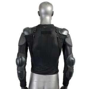 www.mensswaggerapparel.com Quick shipping low prices Biker Apparel & Accessories Motorcycle Body Armor Garment Guard Jacket Chest Protection Gear Black