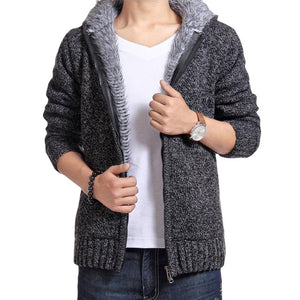 www.mensswaggerapparel.com Quick shipping low prices men's sweaters cardigan jacket Casual Slim Dark Gray