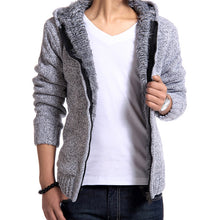 www.mensswaggerapparel.com Quick shipping low prices men's sweaters cardigan jacket Casual Slim Light Gray