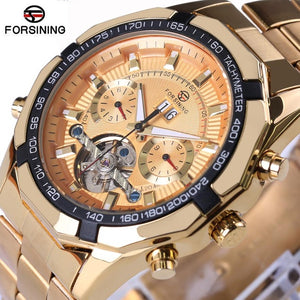 www.mensswaggerapparel.com Quick shipping low prices Men's Watches & Accessories Forsining Mens Watches Top Luxury Brand Men Tourbillon Watch Automatic Mechanical Men Gold Wrist Watch Relogio Masculino