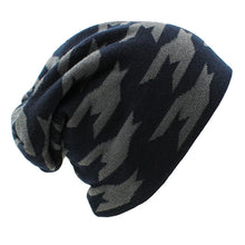 www.mensswaggerapparel.com Quick shipping low prices men's Hat'sWinter Hat Caps Faux Fur Warm Baggy Knitted Hat Men Beanies Knit Skullies Navy Blue