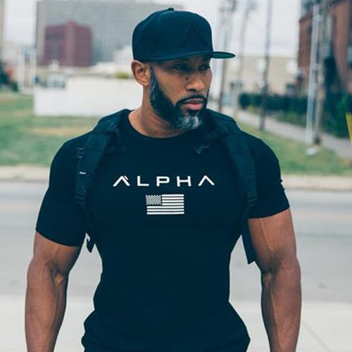 www.mensswaggerapparel.com Quick shipping low prices Mens T-Shirt cotton Short sleeve t shirt Fitness bodybuilding shirts Crossfit male Brand tee tops Fashion casual clothing