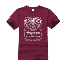 www.mensswaggerapparel.com Quick shipping low prices Mens T-Shirt Walter White Tops Cotton O-Neck Heisenberg Red