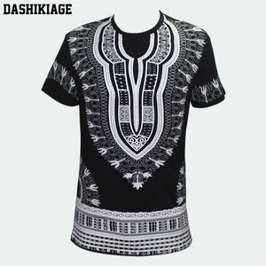 www.mensswaggerapparel.com Quick shipping low prices Traditional African Dashikiage Men's African Dashiki T-shirt Boho Hippie Kaftan Festive Tribal Gypsy Ethnic Top