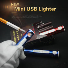 www.mensswaggerapparel.com Quick shipping low prices men's Gifts & Gadgets Electronic Lighter USB Lighter Rechargeable Flameless Windproof Cigarette Lighter Smoking Gadgets Gift