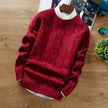 www.mensswaggerapparel.com Quick shipping low prices Men's Sweaters Winter Fashion Brand Casual Thick Sweater Slim Fit Knitting Mens Sweaters And Pullovers Pull Homme\