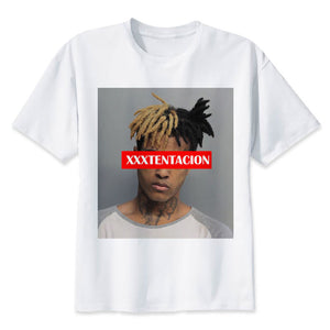 www.mensswaggerapparel.com Quick shipping low prices Mens T-Shirt & Hoodie Xxxtentacion T-shirt men t-shirt fashion t-shirt O Neck white T-Shirts For man Top Tees