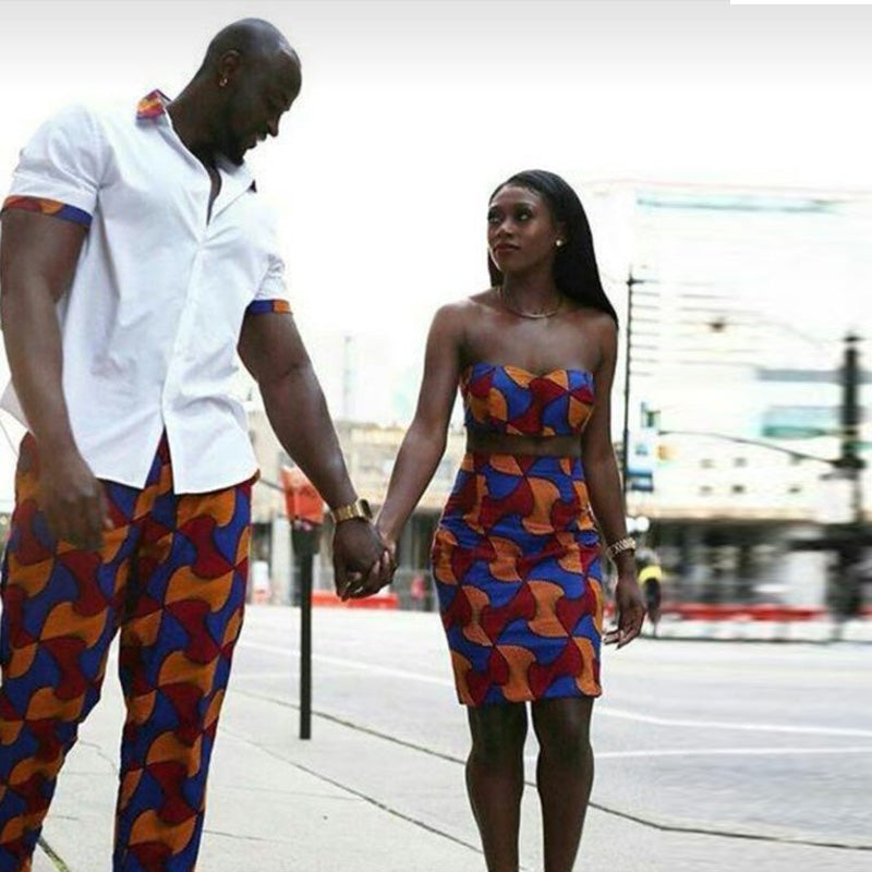 0668401c4 ... www.mensswaggerapparel.com Quick shipping low prices Traditional Attire  African clothing Couples dress Ankara ...