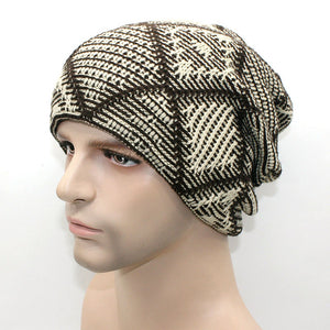 www.mensswaggerapparel.com Quick shipping low prices men's Hat'sNew brand Winter Beanies men Knitted wool hat Warm Soft Beanie Beige
