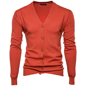 www.mensswaggerapparel.com Quick shipping low prices men's sweaters Autumn Winter Men's Sweaters College Style Youth Orange