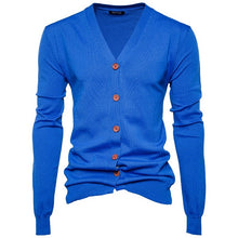 www.mensswaggerapparel.com Quick shipping low prices men's sweaters Autumn Winter Men's Sweaters College Style Youth Royal Blue