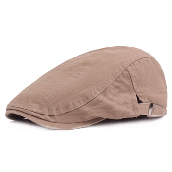 www.mensswaggerapparel.com Quick shipping low prices men's Hat's Beret Cap fashion Cotton Hat Fitted Driving Sun Hat Planas Flat Caps Adjustable Gorras Berets Khaki