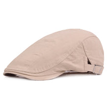 www.mensswaggerapparel.com Quick shipping low prices men's Hat's Beret Cap fashion Cotton Hat Fitted Driving Sun Hat Planas Flat Caps Adjustable Gorras Berets Beige
