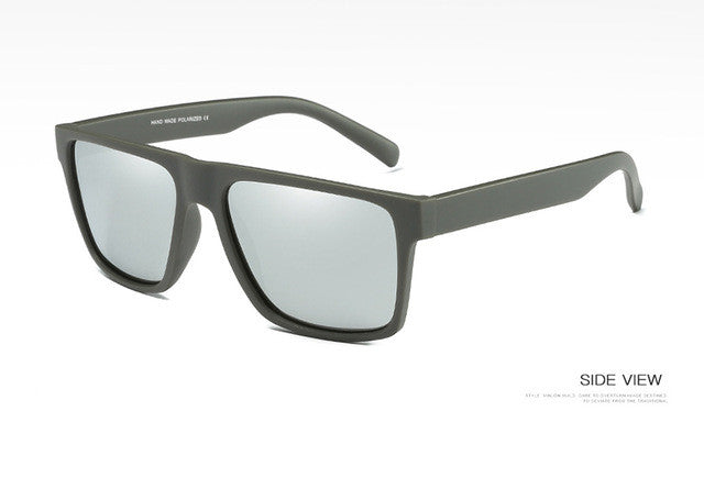 www.mensswaggerapparel.com Quick shipping low prices men's sunglasses  Vintage Polarized Sunglasses Gray / Silver