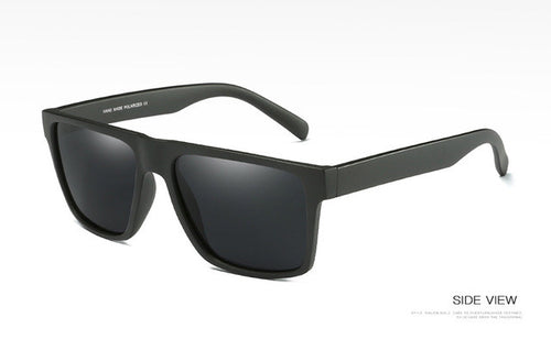www.mensswaggerapparel.com Quick shipping low prices men's sunglasses  Vintage Polarized Sunglasses Black/Gray