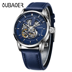 www.mensswaggerapparel.com Quick shipping low prices Men's Watches & Accessories  Luxury Automatic Mechanical Watch Leather Military Watches Clock Men Relojes Masculino