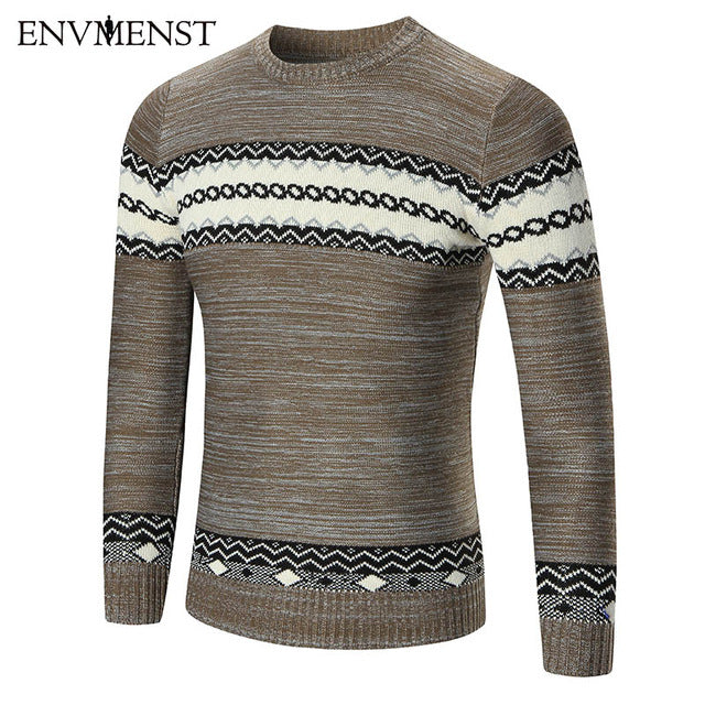 www.mensswaggerapparel.com Quick shipping low prices men's sweaters  Men Sweater Fight Color Coffe