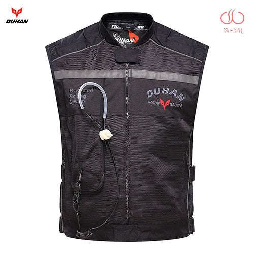 MSA Signature Motorcycle air-bag vest Duhan air bag vest moto racing professional advanced air bag system motocross protective airbag cylinder
