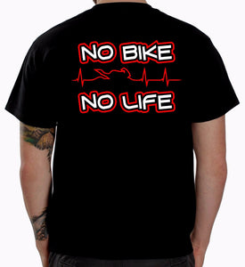 www.mensswaggerapparel.com Quick shipping low prices Mens T-Shirt No Biker No Life Biker T-Shirt Motorcycle Clothing Apparel Funny Gift slim Fit Tee Shirts