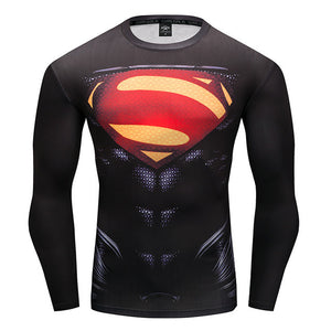 www.mensswaggerapparel.com Quick shipping low prices Mens T-Shirt T-Shirt Marvel Superhero Spiderman T-Shirt Men Fitness tee Compression Shirt Tights
