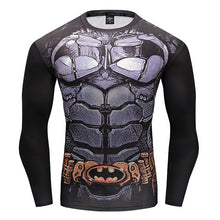 MSA SIgnature  T-Shirt Marvel Superhero Spiderman T Shirt Men Fitness tee Compression Shirt Tights