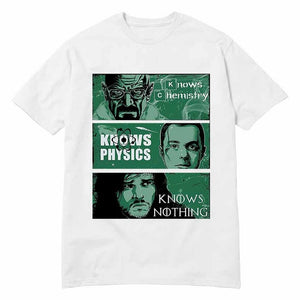 www.mensswaggerapparel.com Quick shipping low prices Mens T-Shirt Cool T-Shirts Fashion Game of Thrones Big Bang Theory Breaking Bad T-shirt Male Oversize Fit Street White