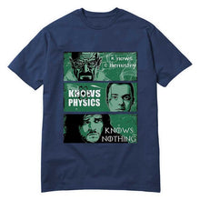 www.mensswaggerapparel.com Quick shipping low prices Mens T-Shirt Cool T-Shirts Fashion Game of Thrones Big Bang Theory Breaking Bad T-shirt Male Oversize Fit Street Navy Blue