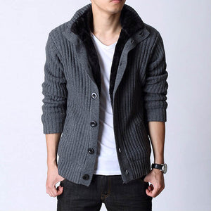 www.mensswaggerapparel.com Quick shipping low prices men's sweaters Autumn Sweater and Winter  stand collar sweaters casual thick warm men's sweaters fashion cardigan men's outwear