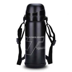 www.mensswaggerapparel.com Quick shipping low prices men's Gifts & Gadgets 800ML Stainless Steel Vacuum Coffee Thermal  Insulated Bottle Outdoor Sports Flask Durable / Water Kettle For Indoor Outdoor Use