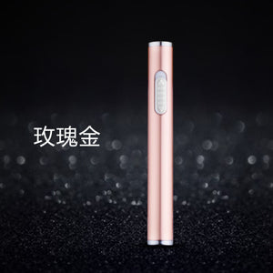 www.Petalsfashionz.com Quick shipping low prices women's Gifts & Gadgets Portable Mini USB Lighter Electronic Cigarette Charging Lighter Windproof Cigarette Lighter Gadget Tool For Men New Year Gifts