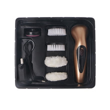 Quick shipping low prices men's Gifts & Gadgets Portable Handheld Rechargeable Automatic Electric Shoe Brush Shine Polisher