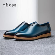 www.mensswaggerapparel.com Quick shipping low prices men's boots & dress shoes TERSE_100% Handmade Shoes Genuine Leather Men Casual Shoes Luxury Designer cowhide Leather Men`s shoes