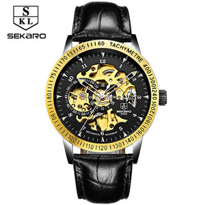 Skeleton Military Mechanical Watch