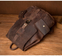 www.mensswaggerapparel.com Quick shipping low prices men's Leather Belts & Leather Bags Crazy Horse Cowhide Men Backpack Genuine Leather Vintage Daypack Travel Casual School Book Bags Brand Male Laptop Bags Rucksack