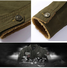 MSA Signature Parka men coat Military Bomber Jackets Men Cotton Thick wool liner Army Denim Air Force Tactical Outwear Winter Jackets Men