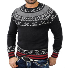 MSA Signature Solid Pullover Print Knitted Sweater