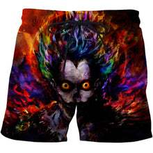 www.mensswaggerapparel.com Quick shipping low prices Men's Jeans & Pants Skull printed 3d beach pants Mens Swim Shorts Surf Wear 3d digital beach pants Wolf harajuku beach shorts board shorts