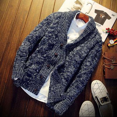 www.mensswaggerapparel.com Quick shipping low prices men's sweaters Cardigan Sweater autumn spring size M-2XL male knitted solid cardigan knitwear casual warm single-breasted