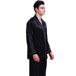 www.mensswaggerapparel.com Quick shipping low prices men's Gifts & Gadgets Silk Satin Pajamas Set   U.S,S,M,L,XL,XXL,3XL , 4XL