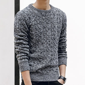 www.mensswaggerapparel.com Quick shipping low prices Men's Sweaters O Neck Winter Sweater Men Pullover Long Sleeve Casual