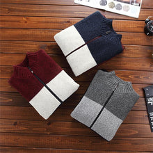 www.mensswaggerapparel.com Quick shipping low prices Men's Sweaters cardigan zipper new winter male loose plus velvet thick stand collar casual thermal sweater