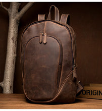 www.mensswaggerapparel.com Quick shipping low prices men's Leather Belts & Leather Bags Vintage men's Leather Backpack Original Backpacks Crazy Horse Genuine Cowhide Skin Leather Men's Bag Cow Leather Backpacks